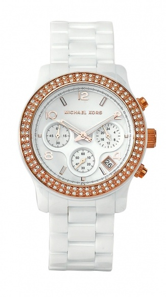 Michael Kors Women's Classic: Woman Watches, First Design, Clothing Accessories, Summer Watches, Classic Watches, Classic White, Michael Kors Watches, White Watches, Women Classic