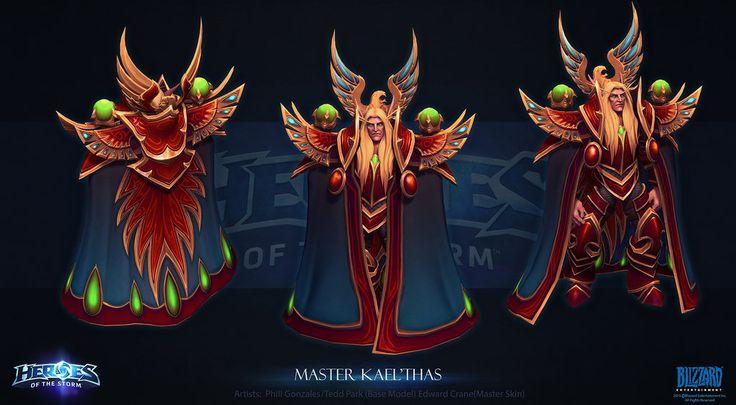 Master Kaelthas by Azetlor Ed Crane Heroes of the Storm