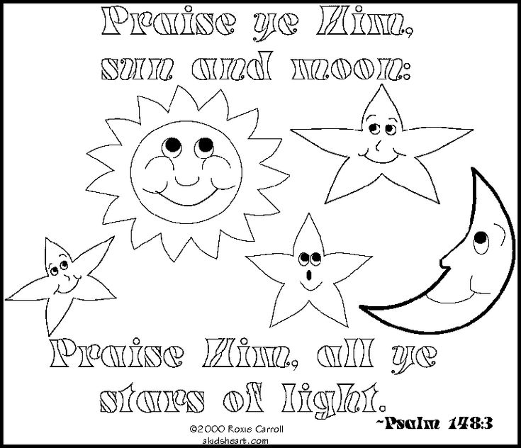 coloring pages for psalm 119 - photo#27