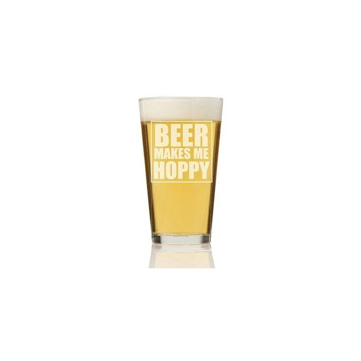 Madison Beer Makes Me Hoppy Pint Glass