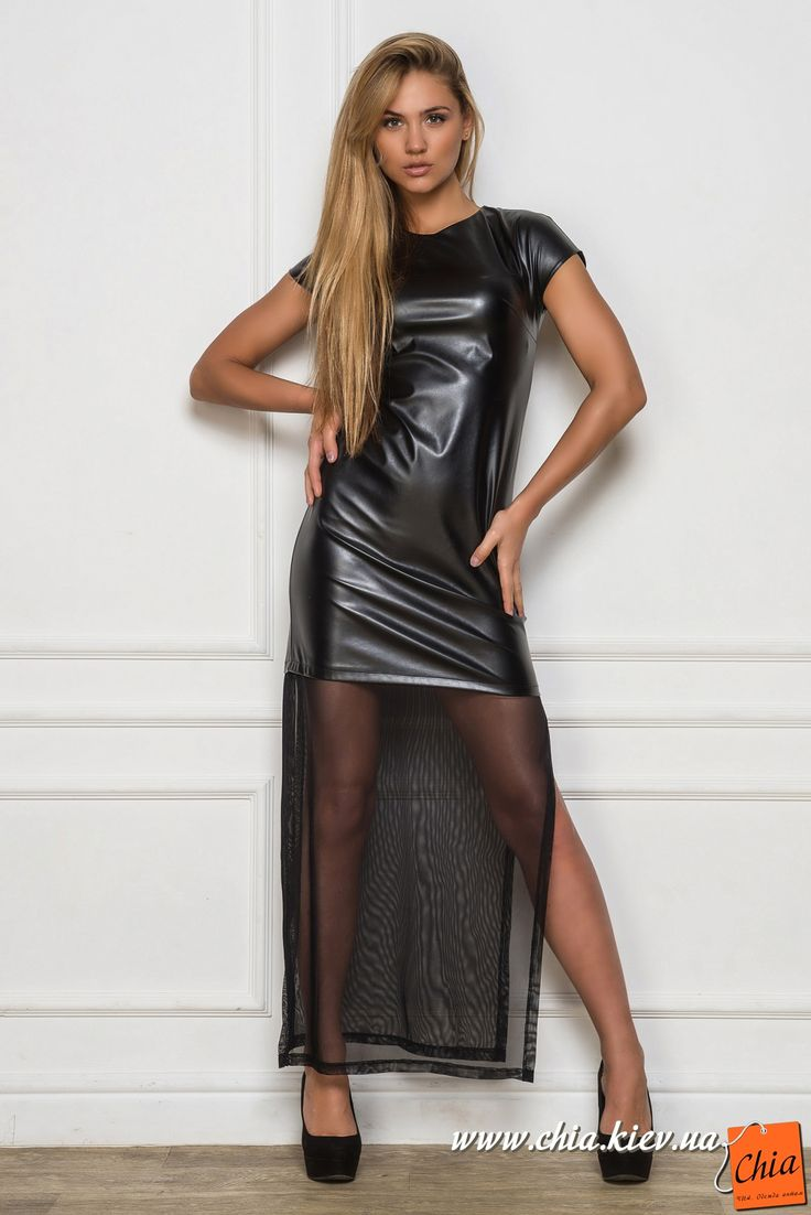 leather dress: SK HOUSE