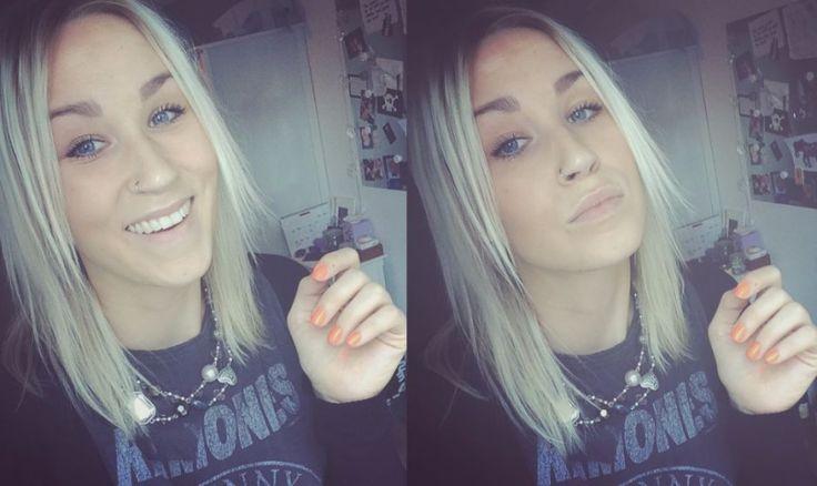 FAKE IT EVEN WHEN IT'S ROCK & ROLL #hashtag #ramones #theramones #rockandroll #blonde #hair #croptop #blondie #streetstyle #streetwear #stylista #newyorker #grunge #norwegian #girly