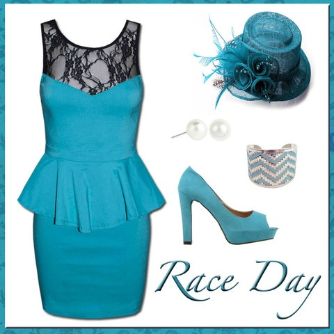 Style Guide: Race day in stunning teal! www.littlepartydress.com.au/pages/style-guide