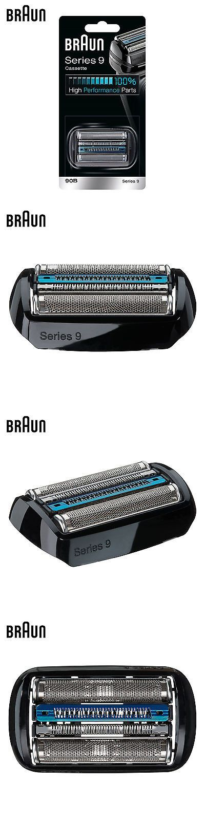 Shaver Parts and Accessories: New Braun 90B Series 9 Foil And Cutter Set Head Cassette Replacement -> BUY IT NOW ONLY: $98.99 on eBay!