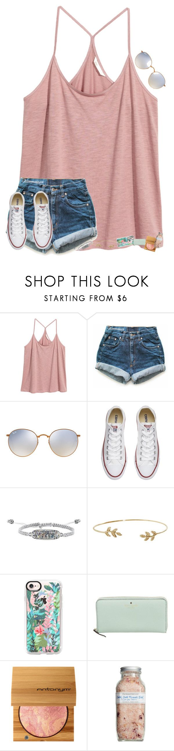 """""""•for beauty is found within•"""" by mackenzielacy814 on Polyvore featuring H&M, Levi's, Ray-Ban, Converse, Kendra Scott, Humble Chic, Casetify, Kate Spade and Farmaesthetics"""