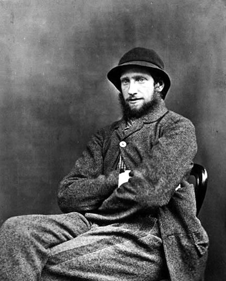 Photograph of a Victorian working man