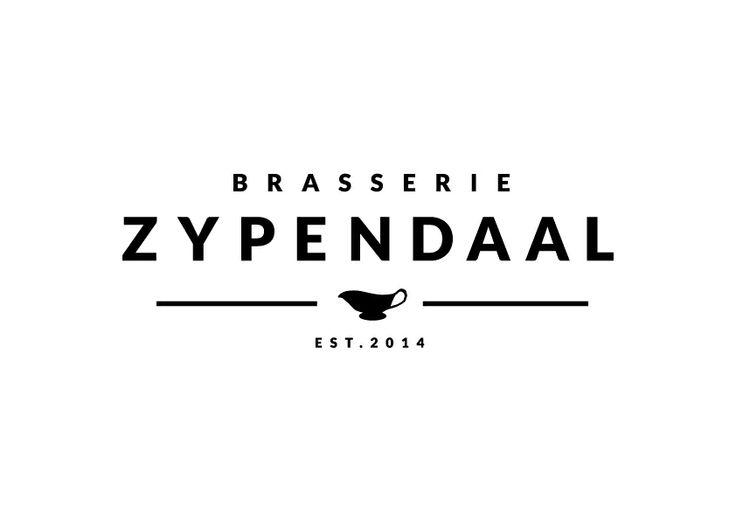 Logo ontwerp het Arnhemse restaurant Brasserie Zypendaal http://www.brasseriezypendaal.nl
