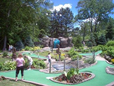 Listing of Recreation Activities - Hocking Hills, Ohio