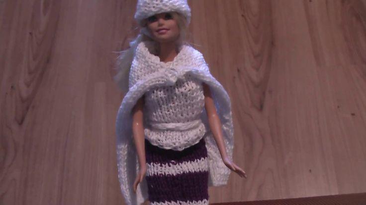 Pletené šaty Barbie