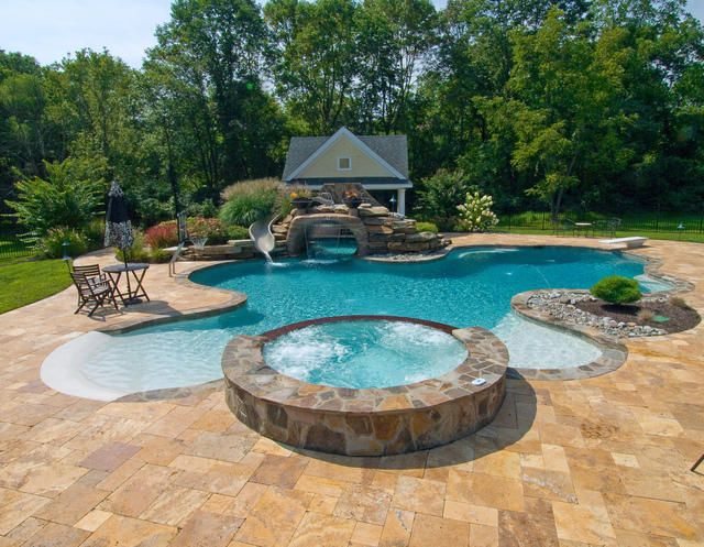114 best dream pools spas images on pinterest for Quality pool design