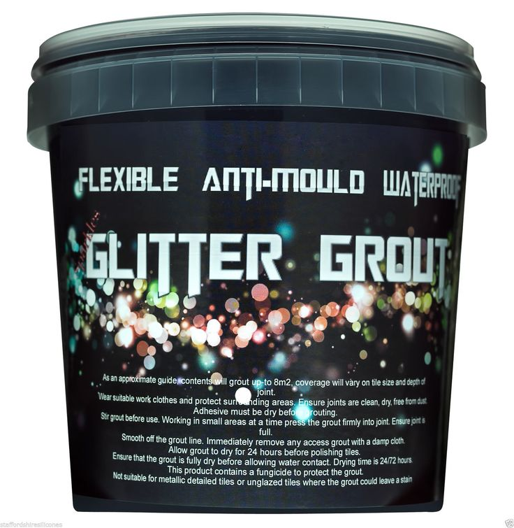 glitter grout ready mixed wall floor mosaic cheap tiles showers wetroom bathroom in Home, Furniture & DIY, DIY Materials, Other DIY Materials | eBay