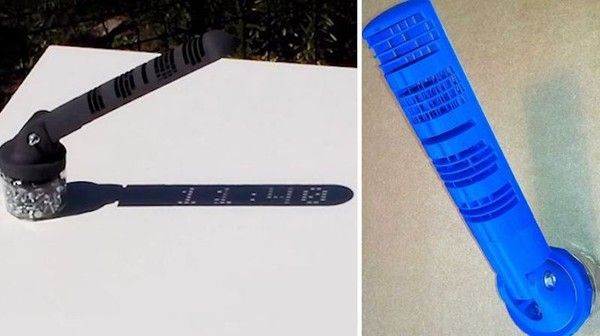 World's First 3D-Printed Sundial That Shows Time Like A Digital Clock Is Pure Genius