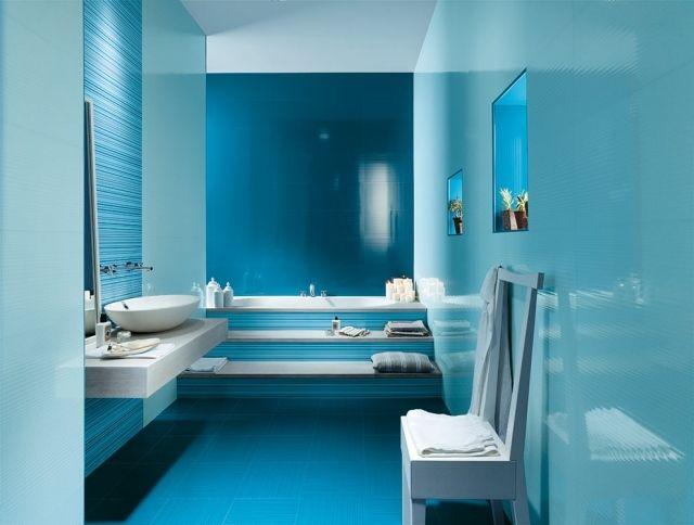 carrelage bleu brillant  magnifique par Fap Ceramiche