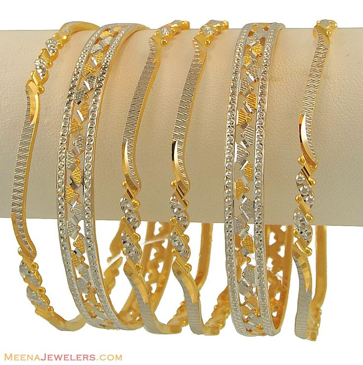 thin gold bangles - Google Search