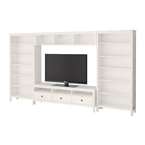HEMNES TV storage combination IKEA