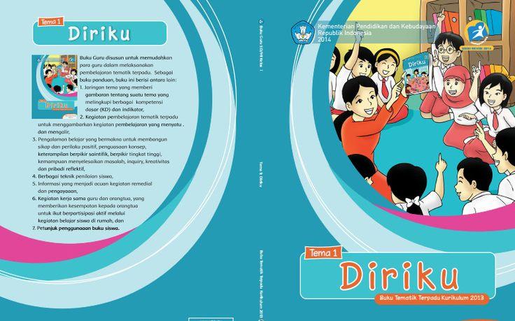Download Buku Tematik Kurikulum 2013 SD Kelas 1 Tema 1 Diriku Edisi Revisi Format PDF