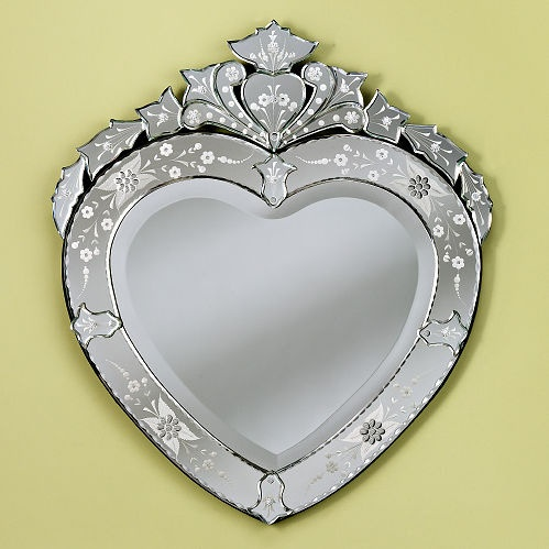 17 best images about heart shaped mirrors on pinterest