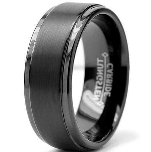 Tungsten Male Wedding Bands