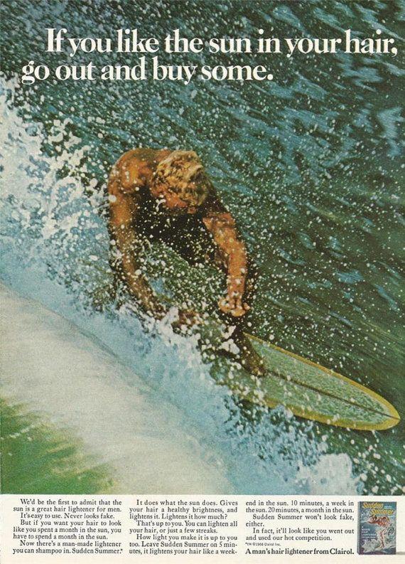 1968 Clairol Men's Hair Lightener