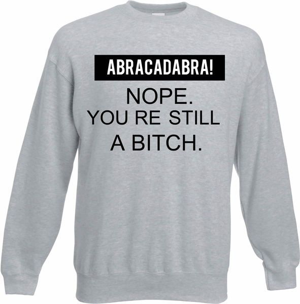 Abracadabra  Sweater Grey de Handsome Store sur DaWanda.com