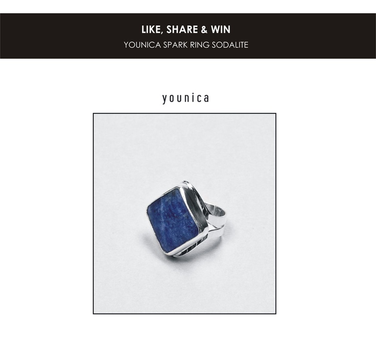 Win our beautiful Spark ring made out of pure silver and dark blue sodalite     How? https://www.facebook.com/photo.php?fbid=556669287712896=a.230297700350058.57151.182326501813845=1