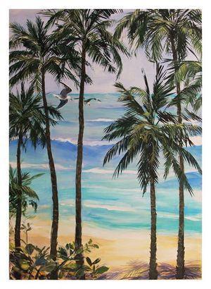 'Indian Ocean Idyle' | Acrylic on Canvas