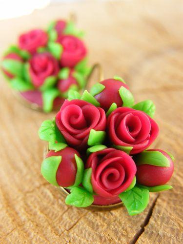 ruže červené