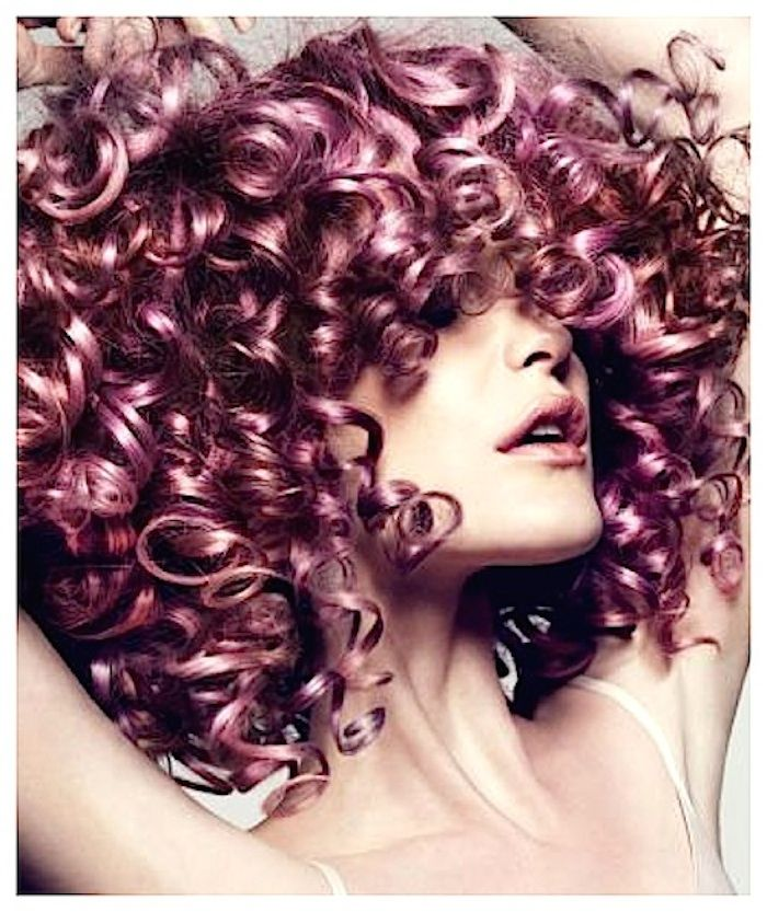 Hair Color Inspiration and Formulation: Wonder In Wisteria