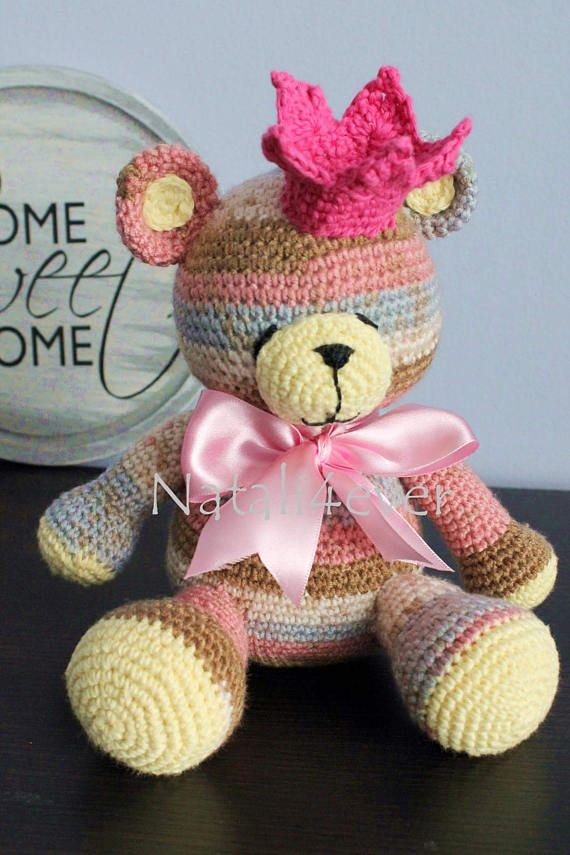Check out this item in my Etsy shop https://www.etsy.com/listing/529391925/princess-teddy-bear