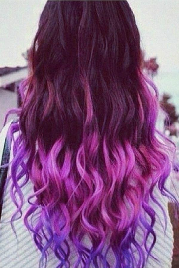 Fashion Gradual Color Hair Extension