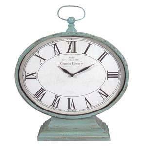 Large Aqua Clock