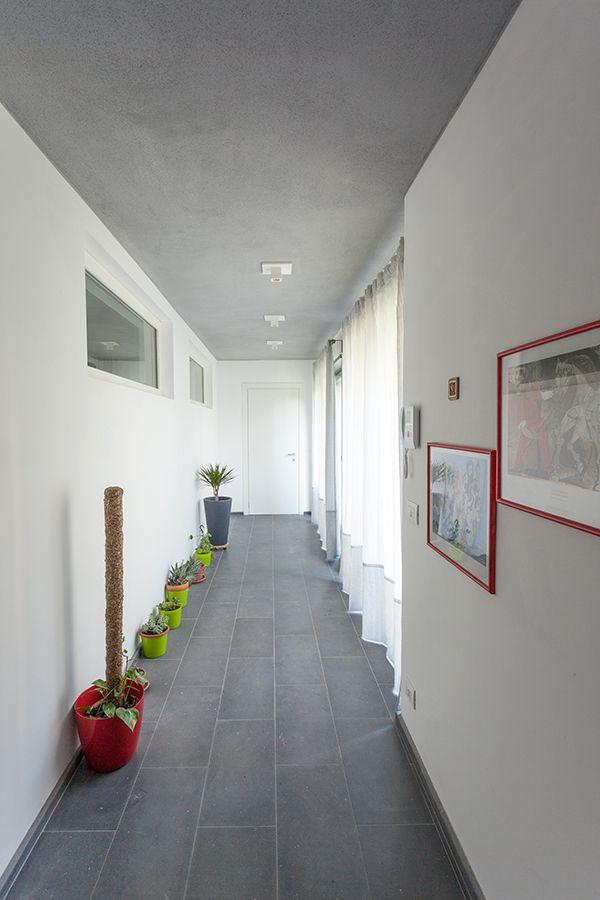 #interior #hallway #basement #klimahauscertificatedA