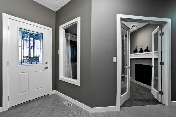 Foyer in Leera Showhome in Sherwood in NW Calgary, Alberta, by Shane Homes
