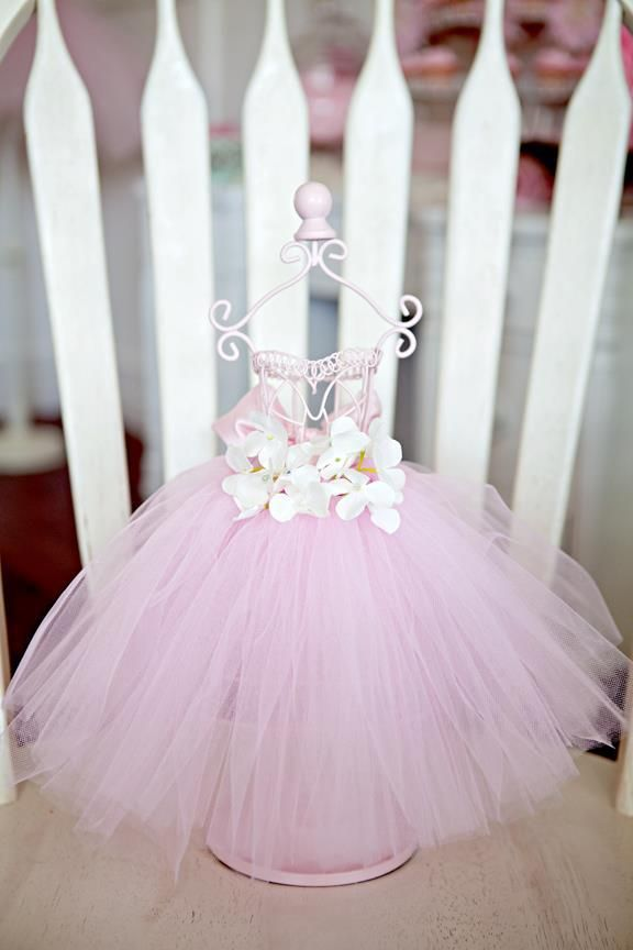 Ballerina Themed Birthday Party - Kara's Party Ideas - The Place for All Things Party