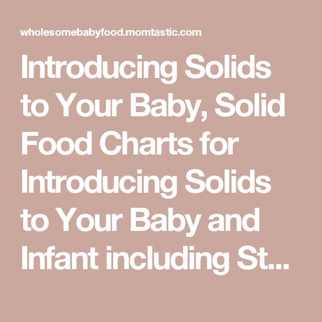 how to start feeding baby solids