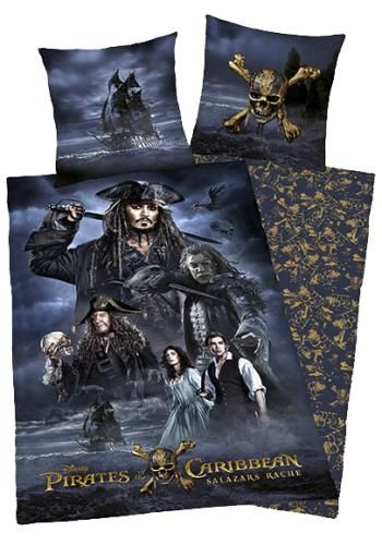 Salazars Rache - Beddengoed van Pirates Of The Caribbean