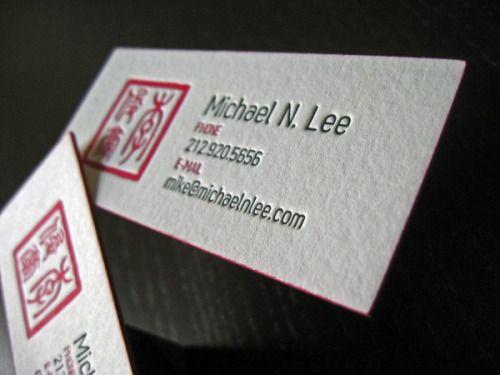 14 best custom business cards images on pinterest custom business the slim business cards of michael n lee colourmoves