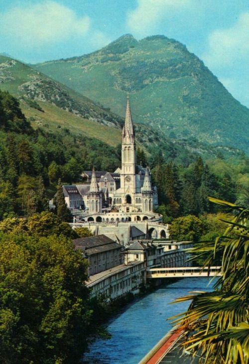 France Travel Inspiration - The sanctuary of Lourdes, France. ♡