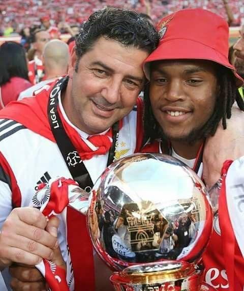 Rui Vitória e Renato Sanches