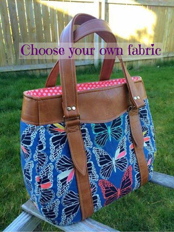 Custom Purse | Large handbag | Shoulder handbag | Made to order custom bag…