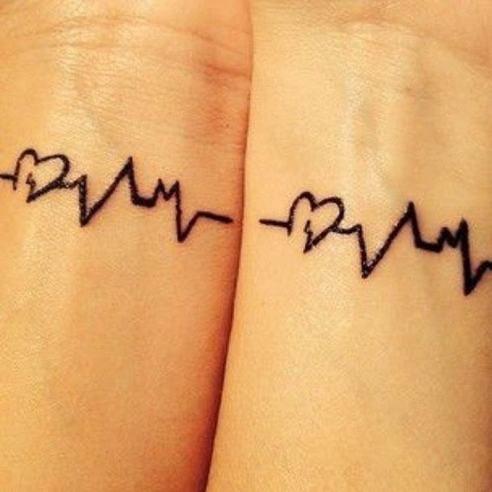 las 25 mejores ideas sobre tatuajes de electrocardiograma en pinterest y m s tatuaje. Black Bedroom Furniture Sets. Home Design Ideas