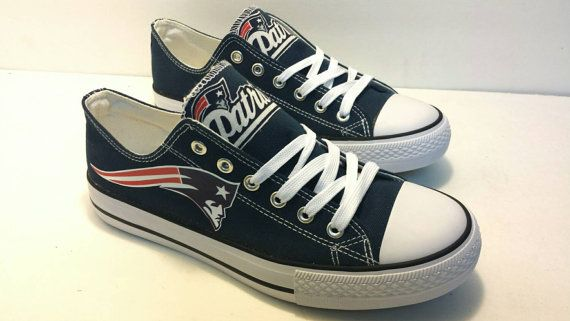 Hey, I found this really awesome Etsy listing at https://www.etsy.com/listing/218042485/new-england-patriots-women-canvas-shoes