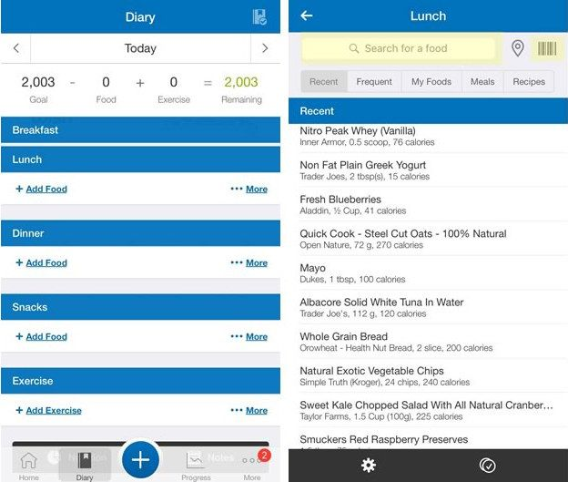 MyFitnessPal (free, iOS, Android) is the calorie-counting app literally everyone needs to try.