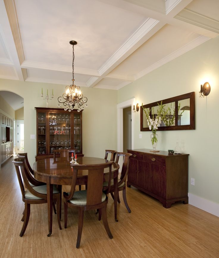 17 Best Ideas About Craftsman Dining Room On Pinterest