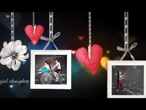 Romantic Wishes Slideshow After Effects Template Project is the perfect slideshow for your favorite photos. There are 2 projects