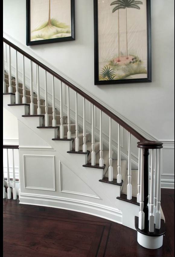 Foyer Stairs Meaning : Images about home wood stairs details on pinterest
