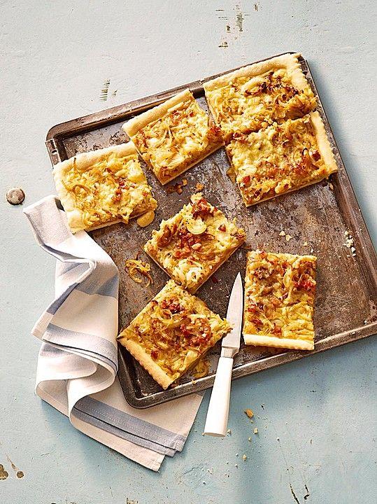 Chefkoch.de Rezept: Einfacher Zwiebelkuchen