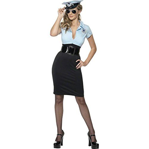 Damen Polizistin Kostüm ca 39€| Kostüm-Idee zu Karneval, Halloween & Fasching