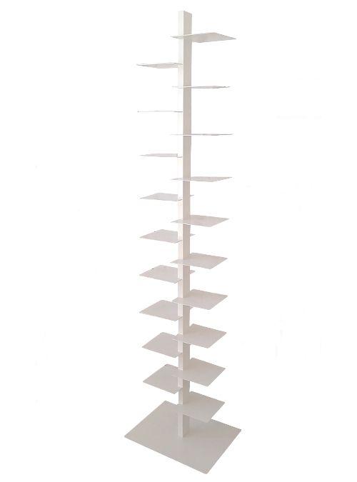 Acquista online libreria a colonna verticale TOWER | xlab libreria verticale autoportante 19 mensole