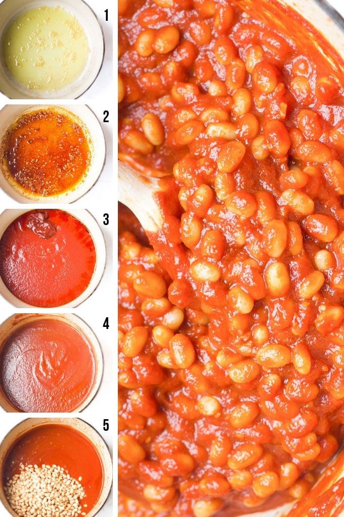 Healthy Baked Beans Recipe Homemade Baked Beans Vegetarian Bean Recipes Healthy Baked Beans